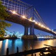 Stock Photo: ManhattBridge in New York