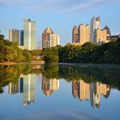 Atlanta's Piedmont Park — Stock Photo