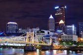 Pittsburgh Skyline — Fotografia Stock