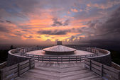 Mountaintop Observatory — Stock Photo