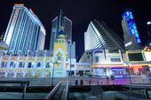 Atlantic city — Stockfoto
