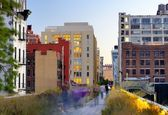High Line in New York — Stock Photo