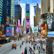 Times Square New York - 图库照片