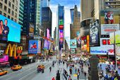 Times Square New York — 图库照片