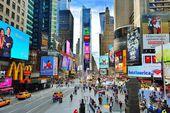 Times square de nueva york — Foto de Stock