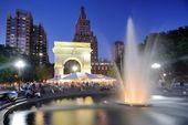 Washington Square Park — Stock Photo