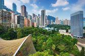Hong Kong Park — Stock Photo