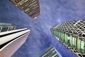 Tokyo High Rises — Stock Photo