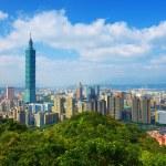 Taipei Skyline — Stock Photo