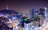 Downtown Seoul — Stock Photo