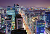 Seoul Gangnam District — Stock Photo