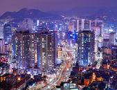 Seul gangnam bölgesinde — Stok fotoğraf