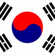 South Korean Flag - Stock Photo