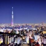 noc Tokio — Zdjęcie stockowe #22054579