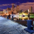 Stock Photo: Skyline of Boston, Massachusetts