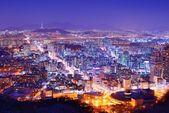 City of Seoul Korea — Stock Photo