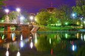 Boston Public Gardens — Stock Photo