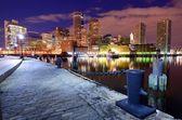 Skyline of Boston, Massachusetts — Stock Photo