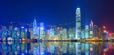 Victoria harbour — Stockfoto