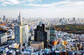 's middags stadsgezicht van shinjuku, tokyo, japan. — Stockfoto