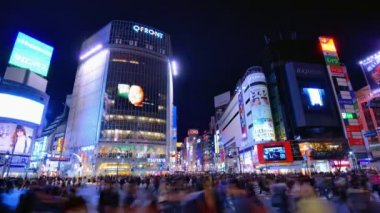 Shibuya, Tokyo, Japan — Stock Video