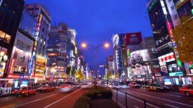 Shinjuku, Tokyo, Japan Time Lapse — Stock Video