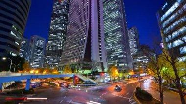 Tokyo Skyscrapers — Stock Video