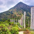 Wisdom Path on Lantau Island, Hong Kong — Stock Photo