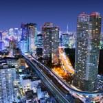 miejski Tokio — Zdjęcie stockowe #22772802