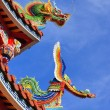 Stock Photo: Temple Rooftop Detail