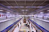Sun Yat-Sen Memorial Hall Bahnhof — Stockfoto