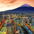 Yokohama and Fuji - Foto de Stock
