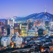 City of Seoul Korea — Stock Photo #23226508