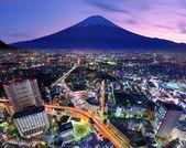 Tóquio e fuji — Fotografia Stock