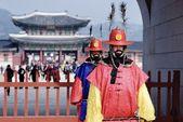 Korean Royal Gaurds — Stock Photo