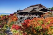 Kiyomizu-dera Temple in Autumn — Stock Photo