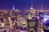 New York City Aerial View — Stock Photo