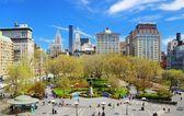 Cidade de nova york quadrado da união — Foto Stock