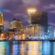 Providence, Rhode Island Skyline - Stock Photo
