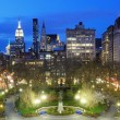 Union Square New York City - Stock Photo
