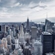 New York City Aerial View Panorama — Stock Photo