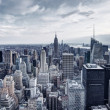 Stock Photo: New York City Aerial View Panorama