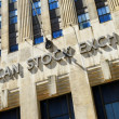 American Stock Exchange - Foto Stock