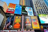 Broadway Signs — Stockfoto