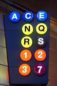 Subway Lines — Stock Photo
