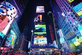 纽约时报广场 — 图库照片