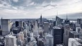 New york city hava görünümünü panorama — Stok fotoğraf