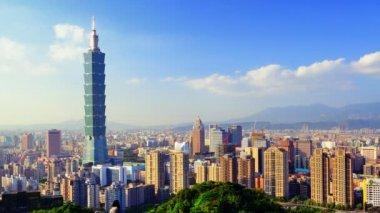 Downtown Taipei — Stock Video