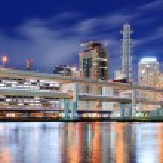 moderne Stadtbild — Stockfoto
