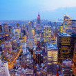 New York City Aerial View Panorama — Stock Photo #24886019